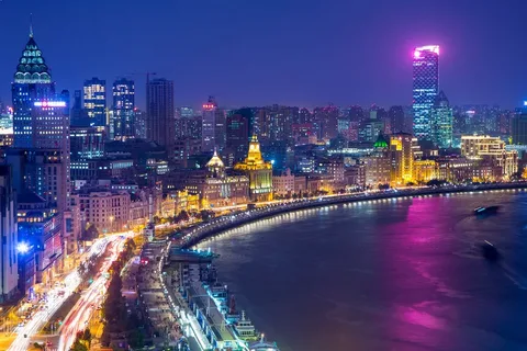Бунд, Шанхай