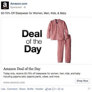 Эффективная реклама на Facebook: примеры
