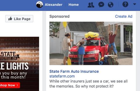 Размер изображения для рекламы в Facebook