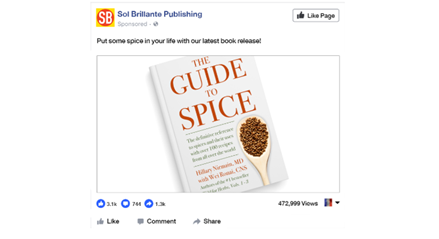 Какое количество знаков можно использовать в рекламе Facebook